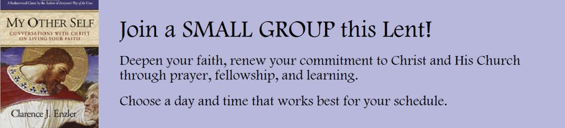 Lenten Small Groups