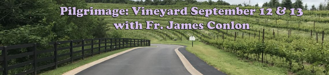 Pilgrimage: Vineyard September 12 & 13