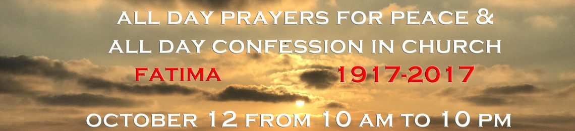 All Day Confession in October