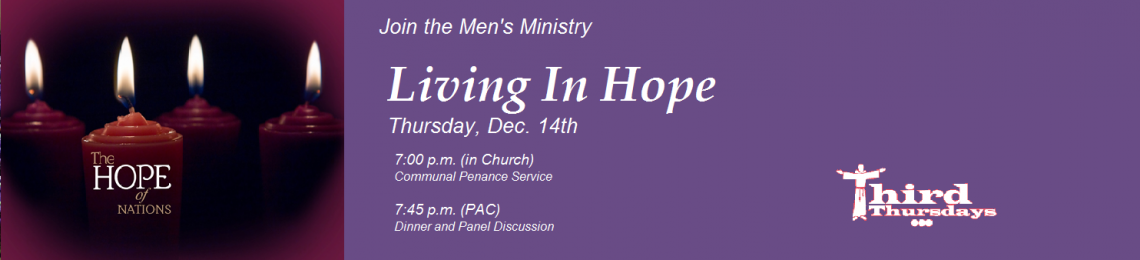 Advent: Men's Ministry