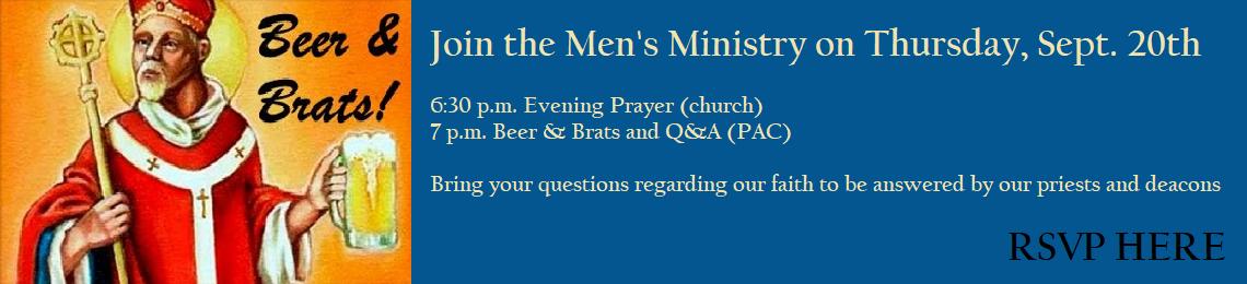 Men's Ministry: Beer n Brats