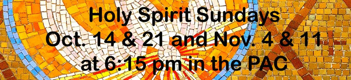Holy Spirit Sundays