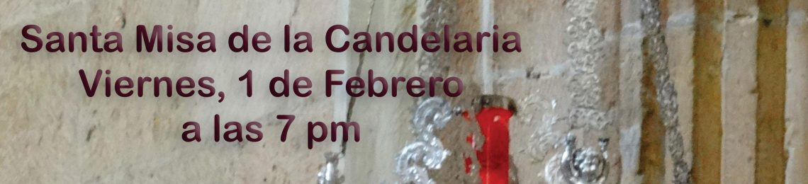 Santa Misa de la Candelaria
