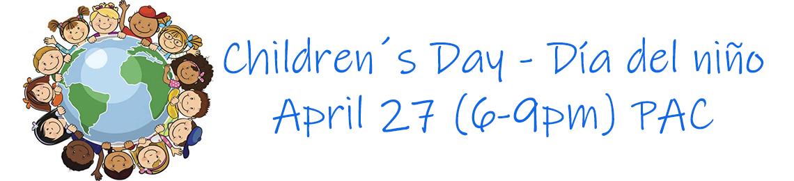Children´s Day – Día del niño