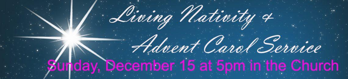 Living Nativity & Advent Carol Service