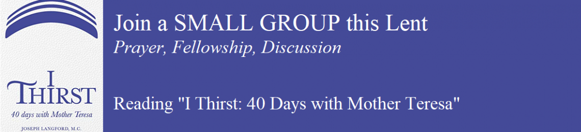 Lenten Small Groups